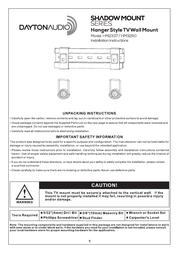 Dayton Audio HM3260 User Manual