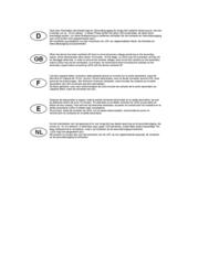 Slv LED driver 464210 White 464210 User Manual