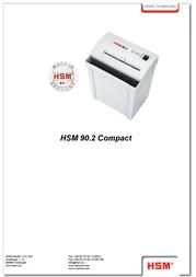HSM 90.2 Compact 3.9 1190151 Leaflet