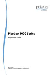 Pico PicoLog® 1012 0 - 2.5 Vdc USB Multi-channel voltage data logger PP546 Data Sheet