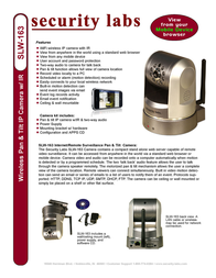 Security Labs SLW-163 Leaflet