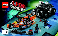 Lego Movie THE 70808 SUPER CYCLE VERFOLG 6061123 Data Sheet