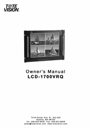 ToteVision lcd-1042ts User Manual