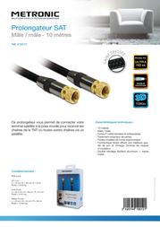 Metronic 419012 Leaflet