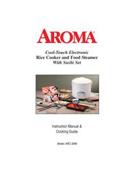 Aroma Electric Steamer ARC3946 User Manual
