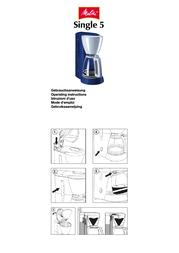 Melitta Single 5 211180 User Manual