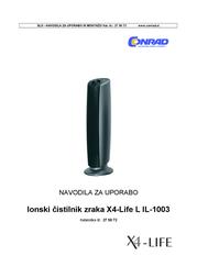 X4-LIFE L IL-1003 700979 Data Sheet