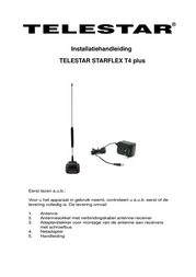 Telestar Starflex T4 5102205 Data Sheet