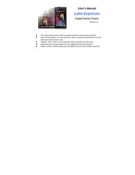 Latte espresso - 16gb User Guide