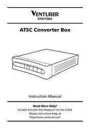 Venturer STB7766G User Manual