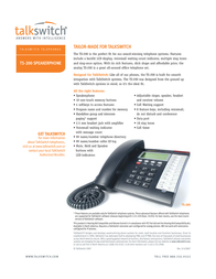 Talkswitch TS-200 CT-TP001-002001 Leaflet