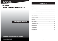 Craig CLC503 User Manual