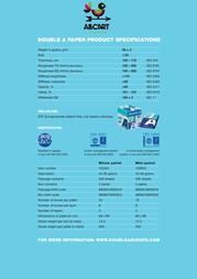 All cart Double A D1053 Leaflet