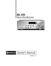 Outlaw Audio RR 2150 User Manual