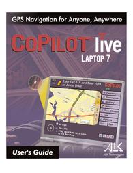 ALK Technologies laptop 7 User Manual