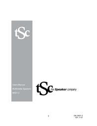 The Speaker Company OM_MS21.2 User Manual