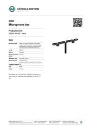 K&M 23550 23550-300-55 Leaflet
