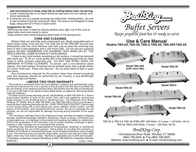 Broil King TBS-2S Leaflet