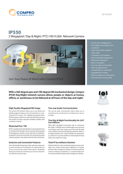 Compro IP550 Data Sheet