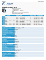 Crouzet 88867303 Time Delay Relay, Timer, IP50 (front) 88867303 Data Sheet