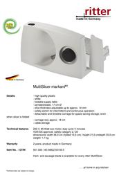 Ritter markant 01 501.000 Leaflet