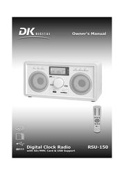 DK digital rsu-150 User Guide