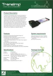 MUKii TIP-PU301CB Leaflet