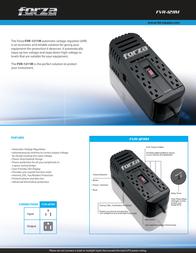 Forza Power Technologies FVR-1211M Leaflet