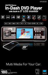 Roadmaster Multi-Media Headunit VRVD630 User Manual