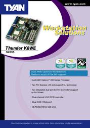 Tyan S2895A2NRF User Manual