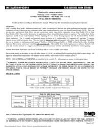 DMP Electronics Inc. Smoke Alarm P83848 User Manual