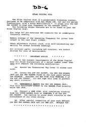 Atlas Webcam DD6 User Manual
