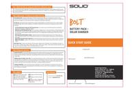 Solio Bolt S620-AH1RW User Manual