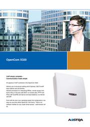 AASTRA OpenCom X320 69287 Leaflet
