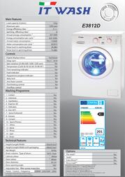 ITWASH E3812D Leaflet