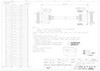 Sandberg SCSI Cable HPDB68M-HPDB50M 1 m 500-88 Leaflet