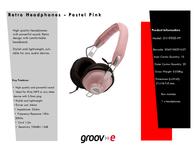 Groov-e GV-9900-PP GV9900PP Leaflet
