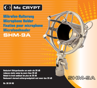 Mc Crypt SHM-9A MICROPHONE-HOLDER 303440 Information Guide