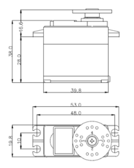 Hitec HS-485HB 112485 Data Sheet