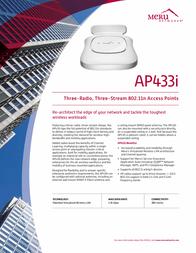 Meru Networks AP433I Leaflet
