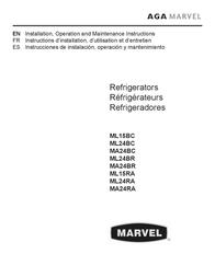 Marvel MP24BC Installation Instruction