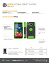 Trident Aegis AG-MOT-RAZRHD-TG Leaflet