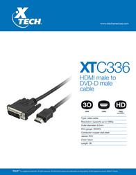 Xtech XTC-336 Leaflet