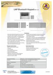 LMP Bluetooth Keypad LMP-8337 Leaflet