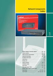 ROLINE UTP Patch Cord, Cat.6, grey 1m 21.15.0931 User Manual