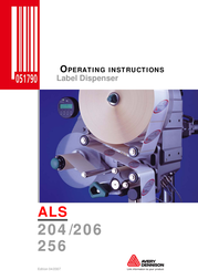 Avery ALS 206 User Manual