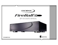Escient FIREBALL MP-150 User Manual