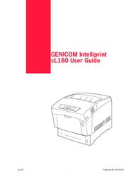 Genicom cL160 User Manual