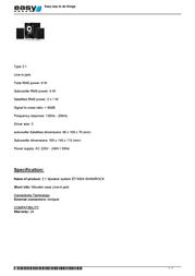 EasyTouch ET-5004 Leaflet