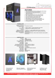 AplusCase CS-Monolize 12347 Leaflet